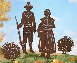 thanksgiving shadow garden metal stakes collections etc http