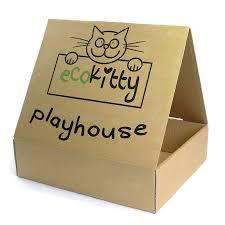 Cardboard Cat Scratcher House Paper Cat Scratcher Lounge Corrugated Cat Scratcher Cardboard