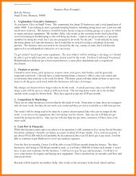 Best Resume Sections by 8 Business Plan Examples Resume Sections
