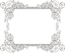 invitation borders free download decorative backgrounds for word documents more free clipart