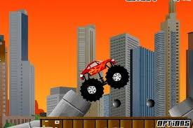 monster truck 3d game speed
