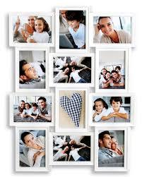 Wohnzimmer Fotos Amazon De Woltu 9341 Bilderrahmen Collage Holz Rahmen Galerie