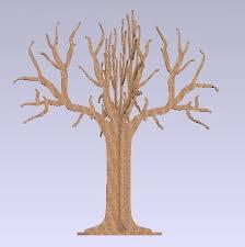 tree puzzle autocad 3d cad model grabcad