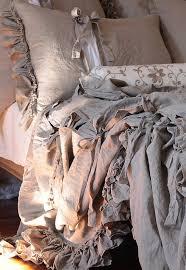 White Ruffle Duvet Cover Queen Best 25 Linen Duvet Ideas On Pinterest Linen Fabric Fabrics