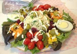 recette cuisine ramadan recette land recette de salade composée au riz et thon salade