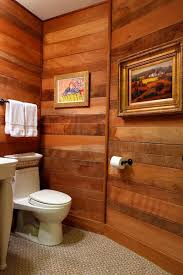 Paneling For Bathroom by Bathroom With Wood Paneling Eclectic Bathroom Baltimore By