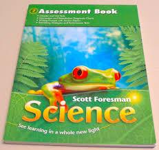 scott foresman science grade 2 assessment book dr timothy cooney