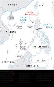 Map Of South China Sea Landmark South China Sea Ruling Could Revive Negotiations Crisis