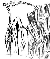 grim reaper sketch1 by phantomxxx on deviantart