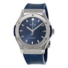 blue titanium bracelet hublot images Hublot classic fusion watches jomashop jpg