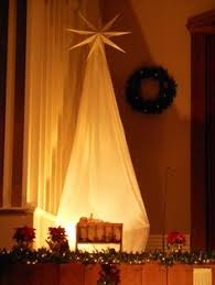 Church Stage Christmas Decorations This Would Look Really Cool Outside My Front Door I Love Fall