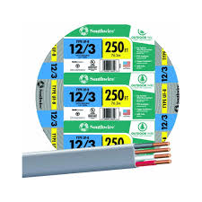 Southwire In Wall Digital 7 by Southwire Company 13058355 250 U0027 12 3 W G Uf Cable Electrical