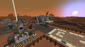 minecraft halloween city a base on mars for galacticraft minecraft project