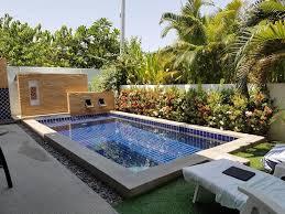 400 Square Meters by Modern Pool Villa Near Blu Port Shopping Mall In Hua Hin