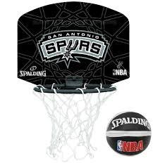 mini panier de basket pour chambre spalding mini panier de basket spurs 77632z ballons