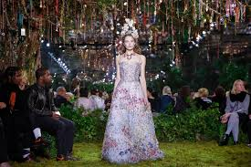 during couture mirrors and mazes at chanel and dior the new
