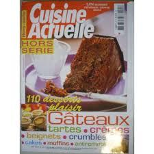 hors s駻ie cuisine actuelle revue cuisine actuelle