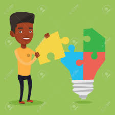 american made light bulbs an african american businessman completing light bulb made of