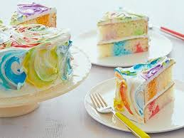 cake ribbon rainbow ribbon cake recipe food network