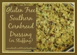 gluten free southern cornbread dressing
