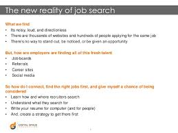 Social Media Job Resume by Twc Social Media Job Search Presentation Texas Workforce Commission