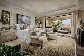 Bedroom Area Rug Tropical Master Bedroom With Hardwood Floors U0026 Pendant Light