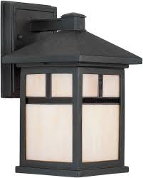 Exterior Light Fixtures View The Forte Lighting 1773 01 Craftsman Mission Outdoor Wall