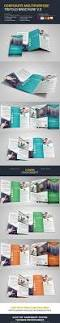 corporate multipurpose trifold brochure template vector eps