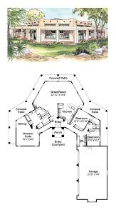 adobe cool house plan id chp 40691 total living area 2431 sq adobe cool house plan id chp 40691 total living area 2431 sq