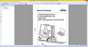 linde forklift truck h12 16 18 20 d 03 t 03 service training