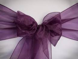 purple chair sashes chair sash gallery specialty linens and chair covers