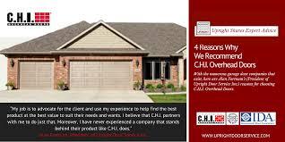 Overhead Door Service 4 Reasons Why We Recommend C H I Overhead Doors Uxbridge