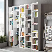 modern bookcases valsa 72