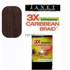 janet collection 3x caribbean braiding hair janet collection 3x caribbean 100 kanekalon synthetic hair braid