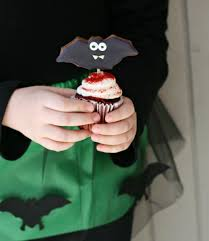 Bat Cookies For Halloween by Bat Cupcakes Peeinn Com