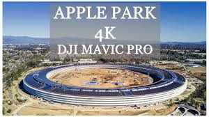 apple park u201cspaceship u201d campus u2013 4k drone video dji mavic pro