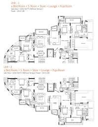 floor plans seventh floor with terrace eighth floor forteen floor