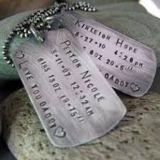 Personalized Dog Tag Necklaces Hand Stamped Dog Tag Together We Make A Family Custom Mens