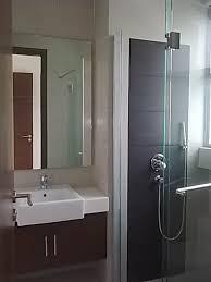 Designer Bathroom Vanity Units Extraordinary Very Small Modern Bathroom Ideas With Semi Recessed