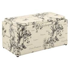 Fabric Storage Ottoman Bench by Storage Ottoman Bench Coffee Table Footstool Furniture Tray Fabric