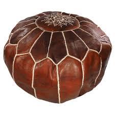 leather ottoman round moroccan pouf ottoman toronto sale diy leather ottomans commercial