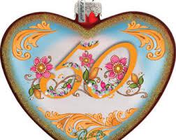50th anniversary ornament etsy