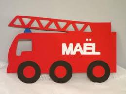 decoration chambre pompier thème pompier pour petit garçon en devenir par 2zailes e