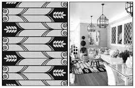 Black And White Rugs Black And White Table Runner Target Salad Plates 4 Count Black
