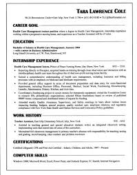 Resume With No Job Experience by How To Write Resume With No Work Experience