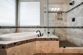 master bathroom tile ideas bathroom design tile accents carried through tub surround and