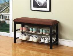Storage Bench With Baskets Entryway Storage Bench With Baskets U2013 Home Design Ideas