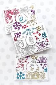 holiday card series 2017 u2013 day 17 u2013 glitter snowflake diecuts