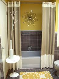 Cheap Bathroom Storage Ideas by Yellow And Grey Bathroom Bathroom Decor