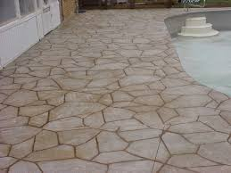 Flagstone Stamped Concrete Pictures by Concrete Stamping